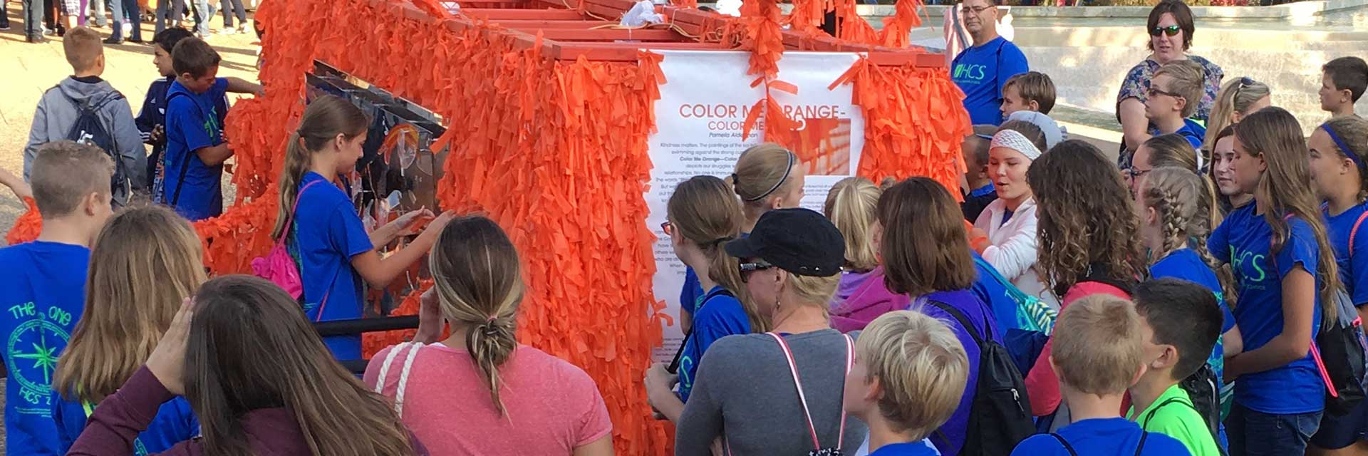Color Me Orange—Color Me Kind at ArtPrize Eight